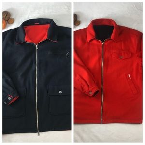 Vintage Marlboro Cigarettes Mens Reversible Jacket